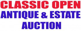Classic Open Antique and Estate  Auction  Friday, September 8, 2017 @ 5:30pm